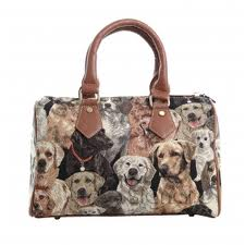 Labrador & Friends Barrel Bag-0