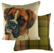 "Boxer "" WaggyDogz"" Cushion Cover-0"