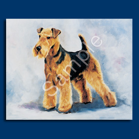 Welsh Terrier- List Pad & Magnet Combo-0
