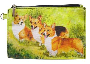 Welsh Corgi - Zippered Pouch-0