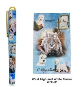 West Highland Terrier Deluxe Ink Pen-0