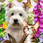 West Highland Terrier 3-D Bookmark-0