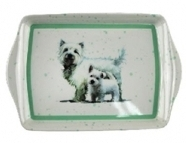 West Highland Terrier Small Tray-0