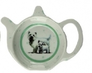 West Highland Terrier - Tea Bag Tidy Dish-0