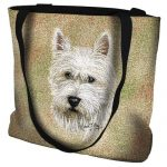 West Highland Terrier Tote Bag -0