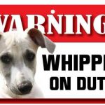 Whippet Warning Sign-0