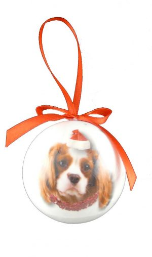 Cavalier King Charles Christmas Bauble-0