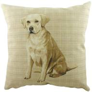 Labrador Tapestry Cushion Cover-0