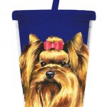 Yorkshire Terrier – 500ml Insulated Cup with Straw-0