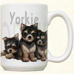 YorkShire Terrier Puppies Mug-0