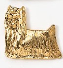 Yorkshire Terrier pin Brooch-0