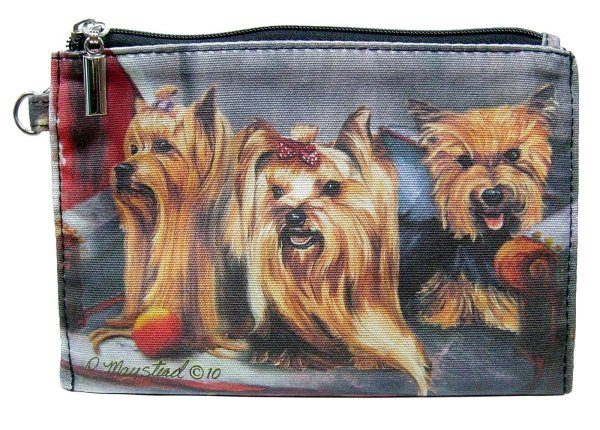 Yorkshire Terrier – Zippered Pouch-0