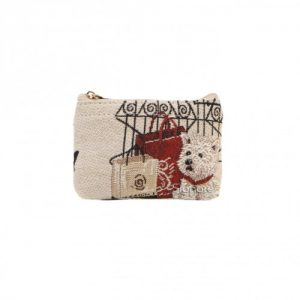 Fashion Dog Zip Coin Purse--0