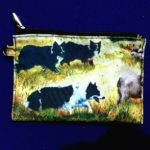 Border Collie Zippered Pouch-0