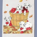 Dalmatian Kitchen Tea Towel-0