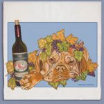 Dogue de Bordeaux Kitchen Tea Towel-0