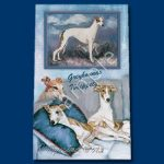 Whippet & Greyhound  Deluxe Ink Pen-4286