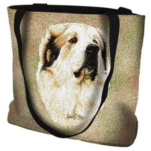 Pyrenean Mountain Dog Tote Bag-0