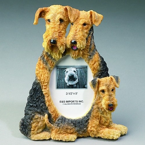 Airedale Terrier Photo Frame-0