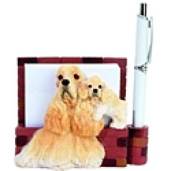 Amercian Cocker Spaniel Memo Holder-0