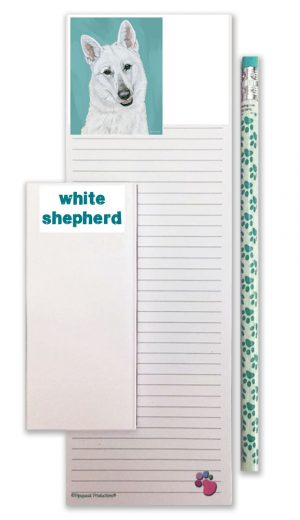 White Swiss Shepherd Shopping Pad