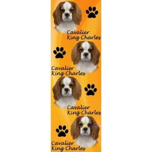Cavalier King Charles Spaniel 3D Bookmark-0