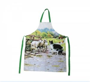 Border Collie & Sheep Apron-0