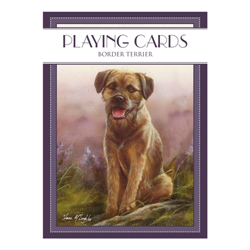 Border Terrier- Deck of Playing Cards-0