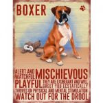 Boxer – Hanging Metal Sign-0