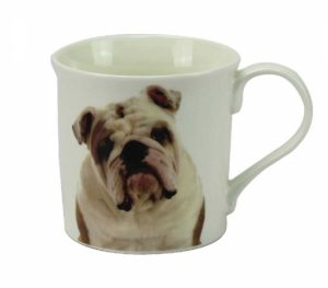 Bulldog - Fine China Mug-0