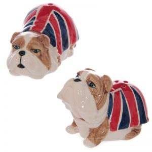 Union Jack Bulldog Pepper and Salt Set-0