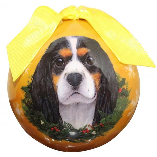 Cavalier King Charles Spaniel Christmas Bauble-0