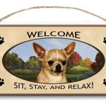 Chihuahua – Welcome Hanging Sign-0