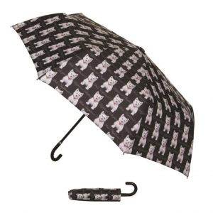 West Highland Terrier Folding Umbrella-0