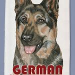 German Shepherd Kitchen Tea Towel-0