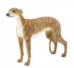 Greyhound Figurine (brindle)-0