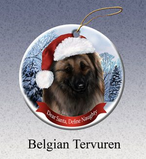 Belgian Tervuren Xmas Tree Decoration-0