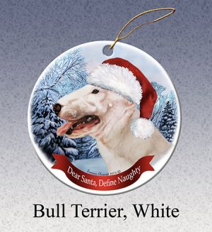 Bull Terrier Xmas Tree Decoration-0