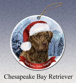 Chesapeake Bay Retriever Xmas Tree Decoration-0