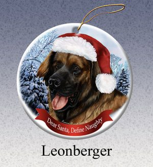Leonberger Xmas Tree Decoration-0