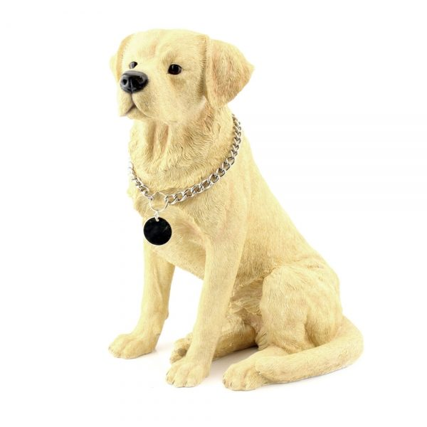 Labrador Large Yellow Sitting figurine-0