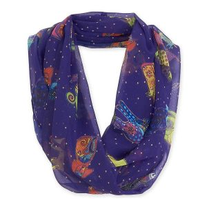 Laurel Burch - Dog & Doggies Scarf-0