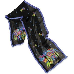 Laurel Burch - Dancing Doggies Scarf-0