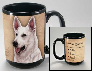 White Swiss Shepherd Mug-0
