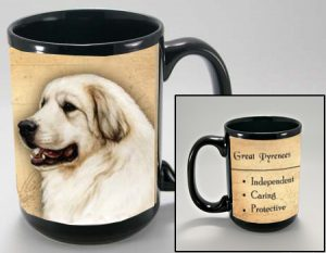 Pyrenean Mountain Dog Mug-0