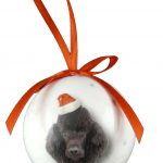 Poodle Christmas Bauble-0