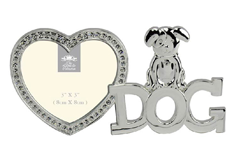 Silver plated Dog Photo Frame-0