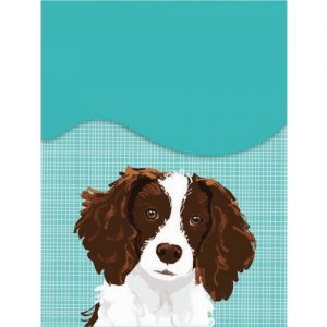 English Springer Spaniel Mini Magnetic Notepad-0