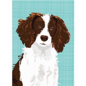 English Springer Spaniel Mini Note Cards-0