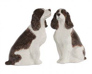 Springer Spaniel Pepper and Salt Set-0
